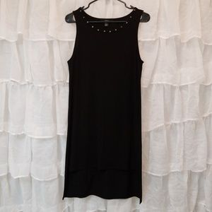 Forever 21 Hi-lo Black Studded Dress